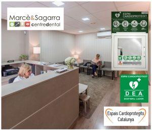 Centre Dental Marcè & Sagarra, espai cardioprotegit