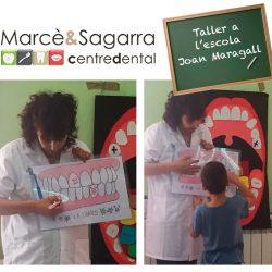 Taller salut dental a l'escola Joan Maragall
