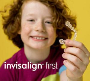 Ortodòncia invisible per a nens